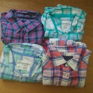 4 Flannels Bundle